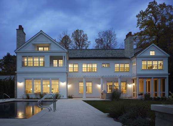 Summer House on Lake Michigan by Wheeler Kearns Architects Summer House on Lake Michigan by Wheeler Kearns Architects