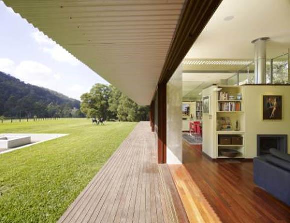 Open Landscape House Design By Fergus Scott Architects