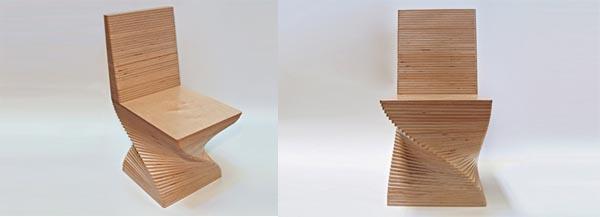 Birch Fin Ply Chair Design By Art Office