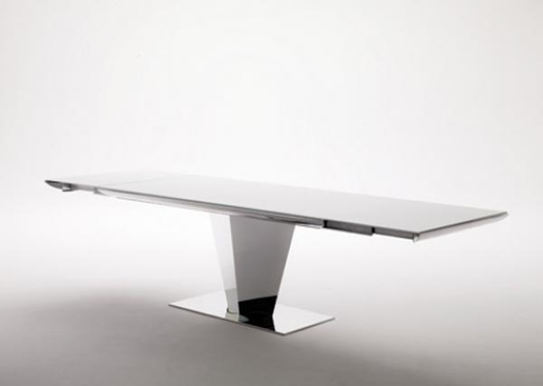 Great Dining Table with Mirror Structure by Ozzio 3 Extendable Dining Table  600 x 427 · 19 kB · jpeg