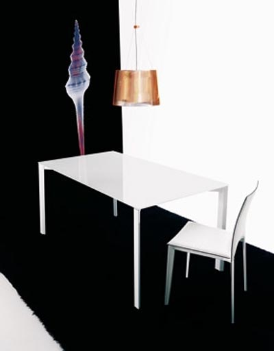 Metal Frame Extendable Dining Table By Ozzio Design Italia