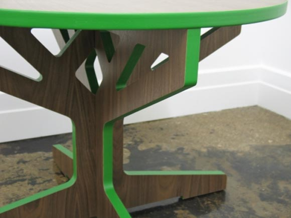 Interlocking Tree Table and Stool by April Hannah 3 Interlocking Tree Table and Stool by April Hannah, Completed Your Interior Furniture