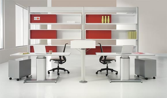 Post and Beam Design by Steelcase Work Office Settings with Post and Beam from Steelcase