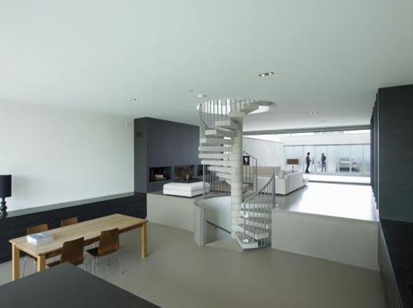 W house in ijburg amsterdam by vmx architects interior design