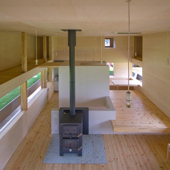 Sprout modern farm house design by archi farm interior design architecture furniture house design - Modern farmhouse interior design ...