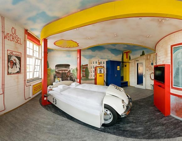 best bedroom design – car inspired bedroom design