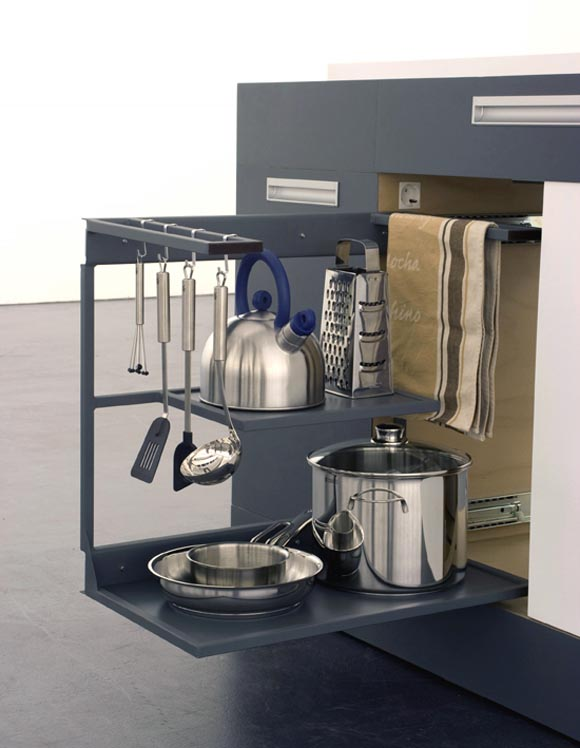 Modular Kitchen Design for Small Spaces by German Designers