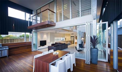 Inside Beach Houses Fairhall Beach House Design