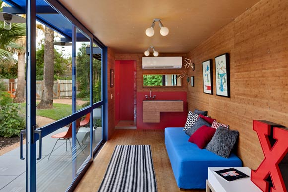 Container guest house by jim poteet interior design architecture furniture house design - Guest house interior design ...