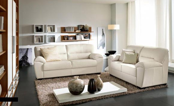 Nice Lving Room with Sofa Sets from Columbini
