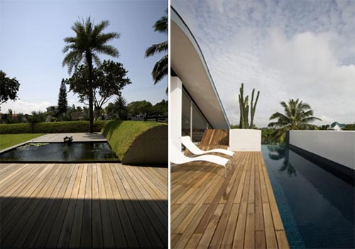 Changi House with Open and Permeable Living Space with Direct Relationship to the Surrounding Nature