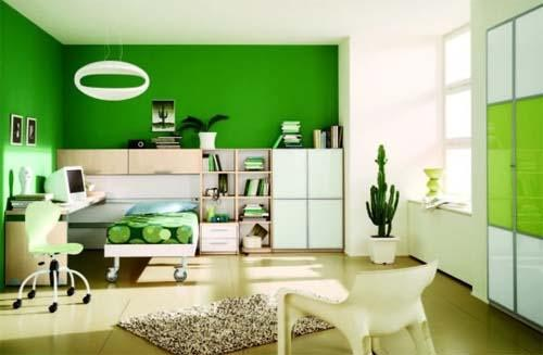 Colorful Bedroom Decoration Makes Bedroom More Interesting
