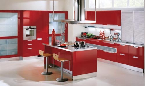 Italian Kitchen By Scavolini, Modern And Stylish Kitchen Design