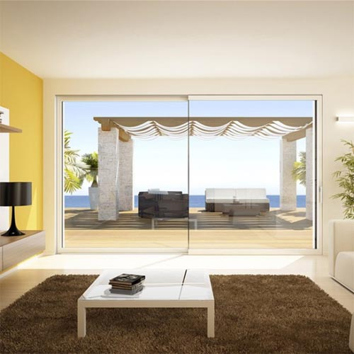 Minimalist sliding window by Angelo Senatore Minimalist Sliding Door and Minimalist Transparent Sliding Window