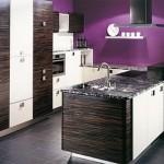 Modern bright color kitchen design and furniture