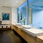 Modern bathroom design Amazing interior design 150x150 Modern House Design with Amazing Interior by Architect Steve Kent
