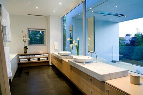 Beautiful Home Design With Modern Vintage Interior Ocean View Modern Bathroom Design Amazing Interior Design