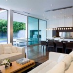 Modern family room design Amazing interior design 150x150 Modern House Design with Amazing Interior by Architect Steve Kent