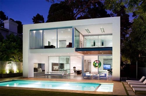 Modern House Design with Amazing Interior by Architect Steve Kent