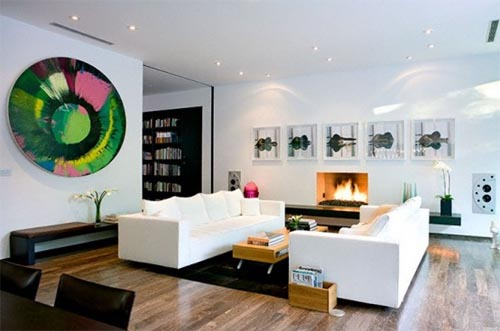 Modern living room design Amazing interior design Modern House Design with Amazing Interior by Architect Steve Kent