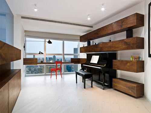 New york apartment with modern interior design interior Modern house architect new york