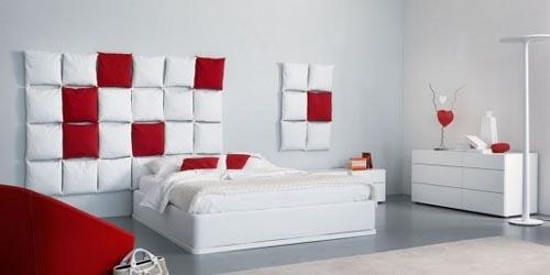 Beautiful stylish bed design by Enrico Cesana
