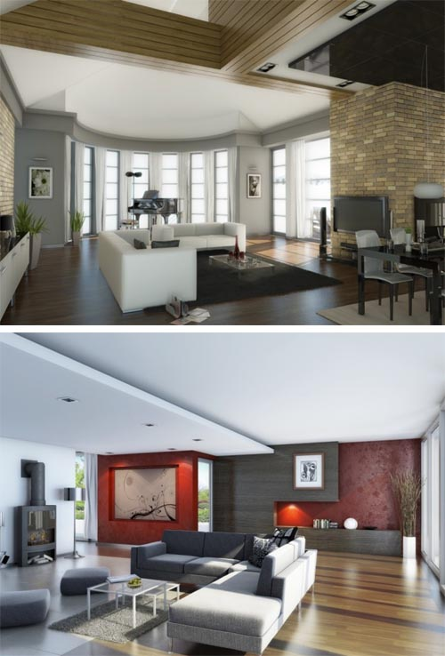 Classy living room concepts 3 Classy Living Room Concepts