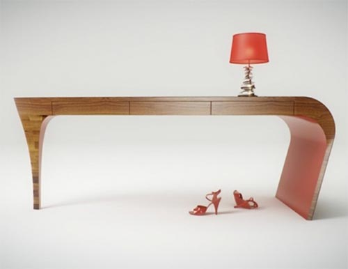 Stiletto, Modern Glamorous Table for Girls by Splinter Works