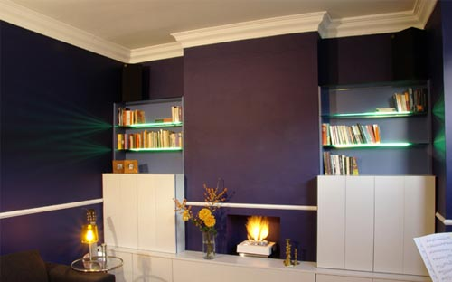 Fresh and Vibrant Home Interior in London Fresh and Vibrant Home Interior in London