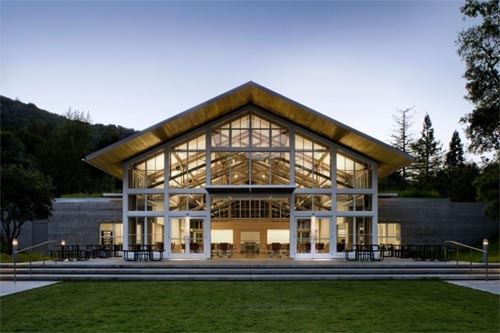 Branson School Student Commons, Green School in Ross, California