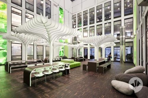 MTV Offices Interior Design in Berlin