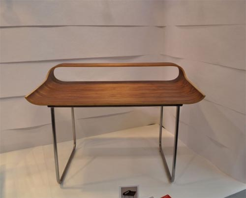 Modern Curve Working Desks Stylish and Minimalist Desk Interior