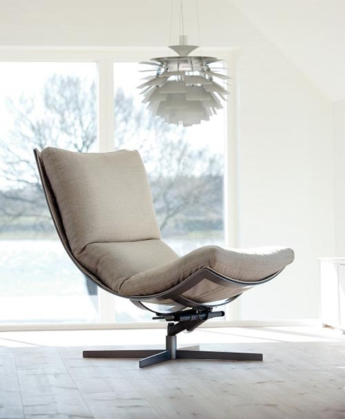 Spring steel relaxing chair comfortable and versatile for Relaxing chair design