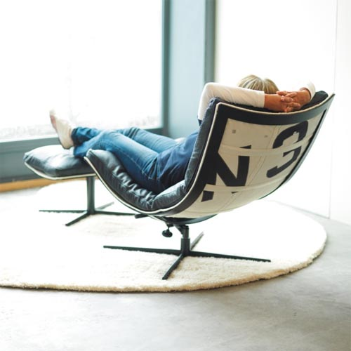 Spring Steel Relaxing Chair, Comfortable And Versatile Chair