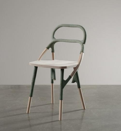 Great Chair and Round Table by Elise