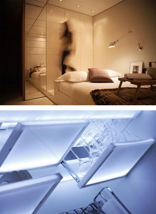 Hi Tech Interior Design For Small Apartment Interior Design Architecture Furniture House Design