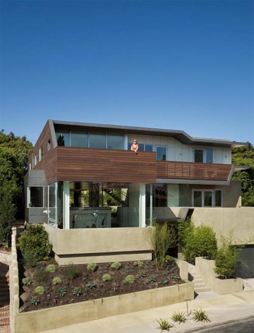 House in Cheviot Hills of Los Angele 1 Built a House in Cheviot Hills of Los Angele