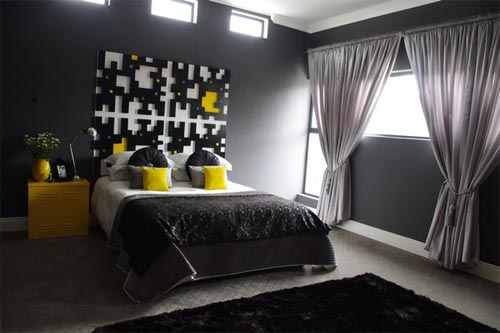 Inspiring black bedroom design Search Inspiring Home Design