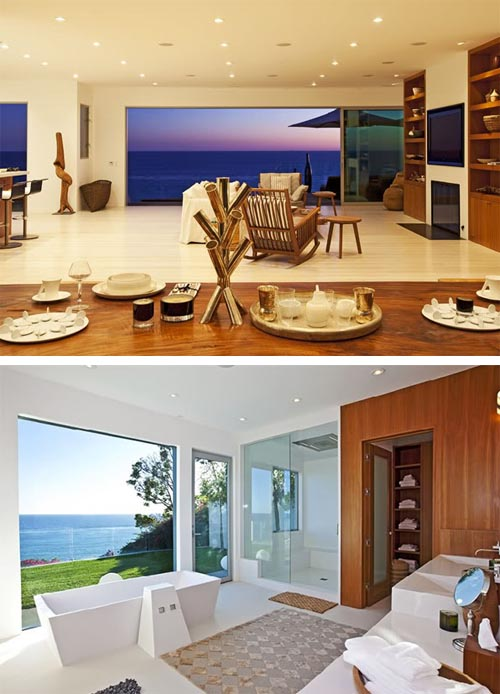 Luxury beach house design in malibu california interior for California beach house interior design