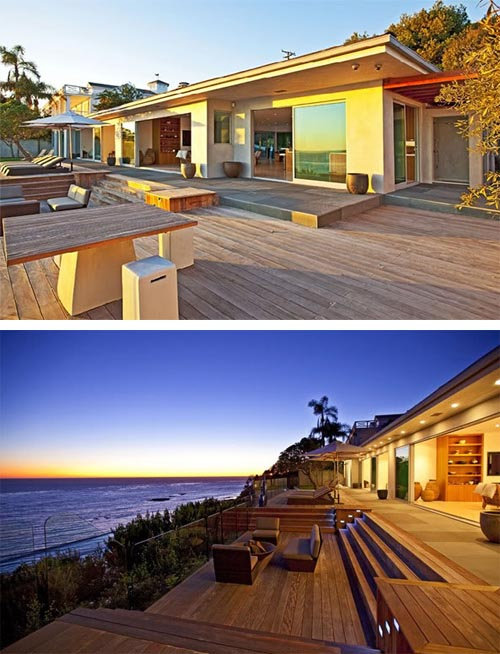 Luxury Beach House Design In Malibu California