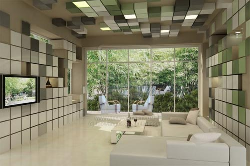Modern Cool Living Room Design By Taowangus