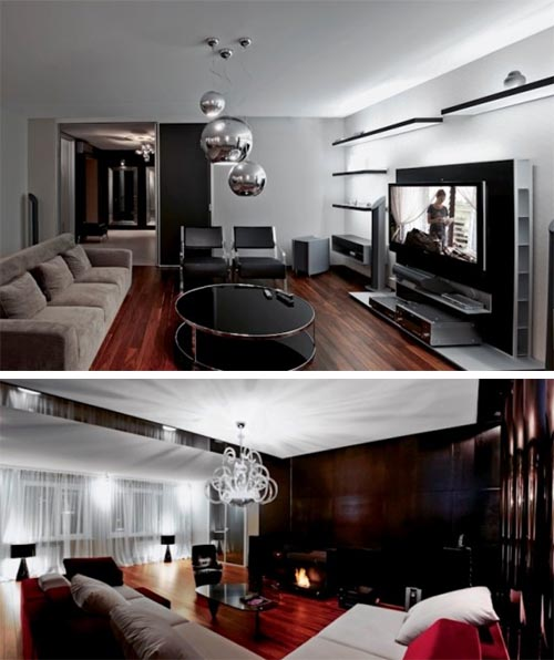 Luxury Large Apartment with Contemporary Interior in Vladivostok, Russia by Alena Ermilova