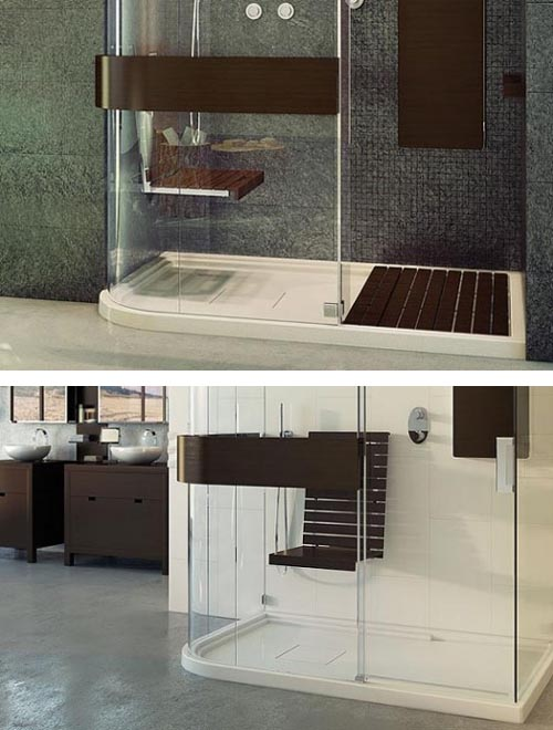 Great Walk-in Shower from MAAX Collection, Bring Modern Lifestyles to Home