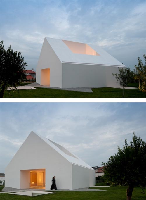 House in Leiria-Portuga by Aires Mateus, White House Design Ideas