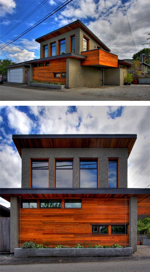 Mendoza lane house in vancouver built with structural Structural insulated panel homes