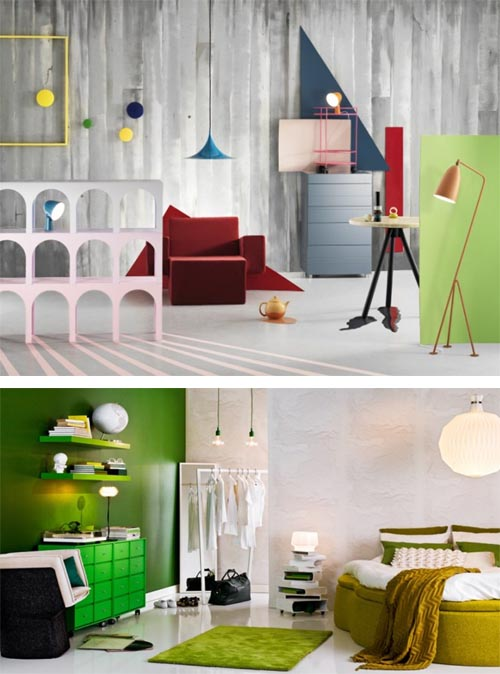 Playful and Lively Atmosphere Interiors 1 Creates a Playful and Lively Atmosphere in Home Interiors, Home Interior Design Ideas