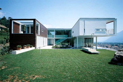 Amazing villa on Lake Maggiore Amazing Villa with Beautiful View of Lake Maggiore by Swiss Architects
