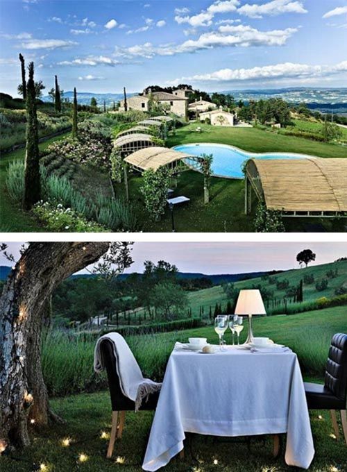Antique villa in Italian Countryside Country Villa with Antique Interior Design in Italia