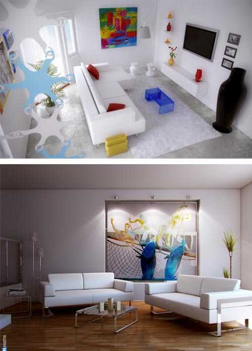 Artistic Interiors Design Ideas