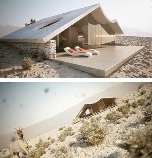 desert villa interior and exterior by studio aiko luxury desert home design interior design. Black Bedroom Furniture Sets. Home Design Ideas